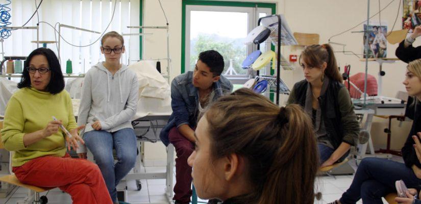 Atelier « la plastique du personnage » au lycée Ramiro Arrue de Saint-Jean-de-Luz (14 octobre 2012)