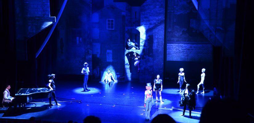 Compagnie Recirquel, Night Circus au théâtre de Bayonne – décembre 2014 © MHD